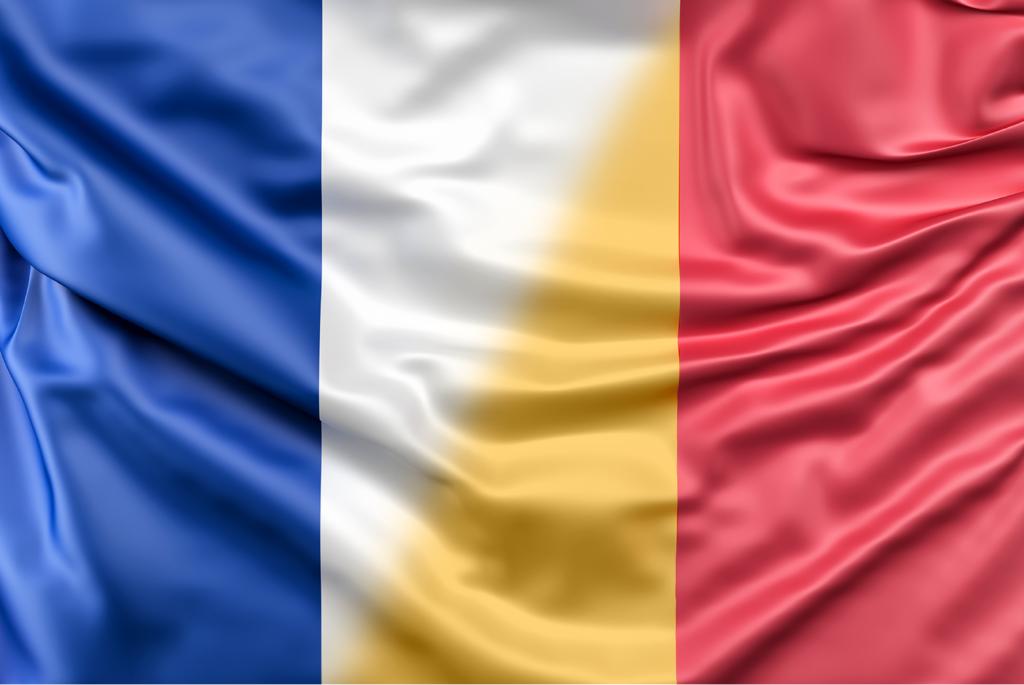drapeau france roumanie