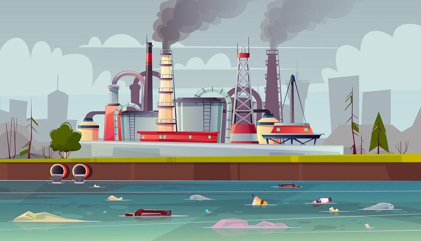 Pollution roumanie
