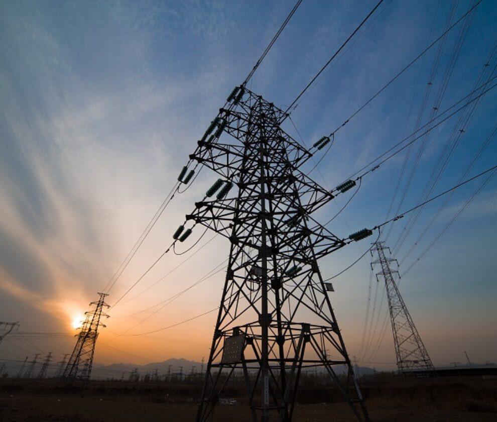 big Electricity pylons